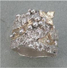 Hattie Sanderson metal clay ring