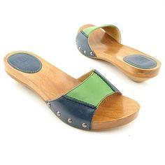 Frye Ellie Luxurious Slide Sandals Women's 6 NIB $148