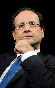 Francois Hollande new president of THE FRANCE