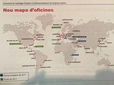 El Món | El Govern obre sis noves Oficines Exteriors de Comerç al món | Política, 09/02/2017