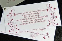 Einladungskarten - Einladungskarte Kommunion Einladung Fächerkarte - ein Designerstück von marion-designisch bei DaWanda