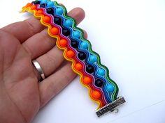 Colorful Soutache Bracelet