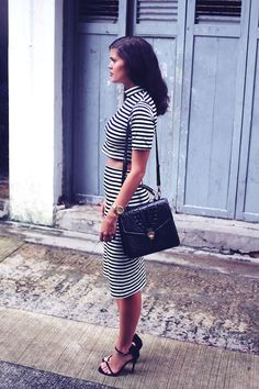 CURRENTLY WEARING: DOUBLE STRIPES