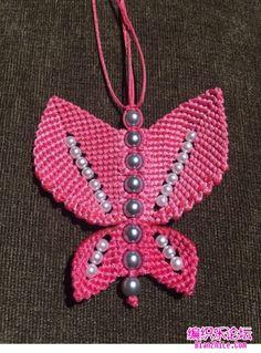 点击查看原图 Beaded Necklace Patterns, Weaving, Brooch, Jewelry, Ideas, Yarn Crafts, Farmhouse Rugs, Tutorials, Necklaces