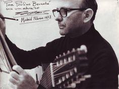 Narciso Yepes - Classical Guitarist con desicatoria al Luthier Bernabé