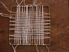 penny berens - needle weaving