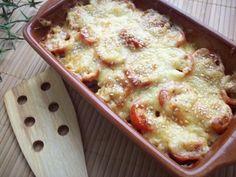 Кабачки, запеченные с шампиньонами и помидорами под сыром - Рецепты с фото