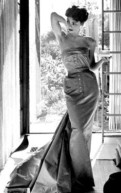 Model turned actress Joanne Gilbert, LIFE magazine, February 15, 1954