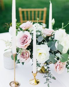Browse this gallery of 75 great wedding centerpiece ideas. We have something for every style of wedding including ideas that use flowers, nonfloral centerpieces, DIY projects, and more.