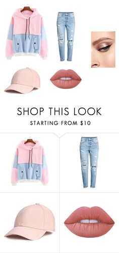 """""""<3"""" by kale-00 on Polyvore featuring moda y Lime Crime"""