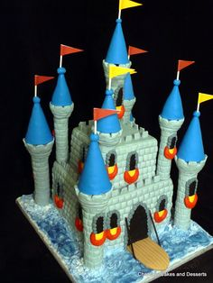 Large Castle Cake - Chantal's Cakes and Desserts