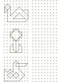 Symmetry Worksheets, Symmetry Activities, Pre K Activities, Drawing Activities, Preschool Worksheets, Montessori Education, Kids Education, Visual Perceptual Activities, Graph Paper Art
