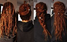 Dread awesomeness Don't let anyone tell you dreads aren't stylish!