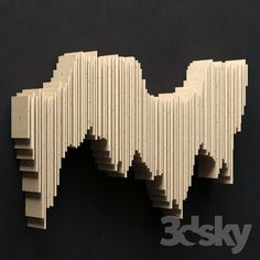 3d models: Other decorative objects - Parametric panel Frequency;