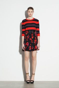 DKNY | Pre-Fall 2012 Collection | Vogue Runway