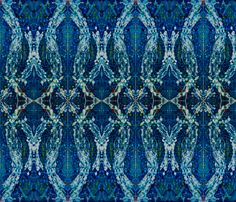 Blue 322 fabric by elizabeth_schowachert on Spoonflower - custom fabric