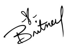 britney spears autograph tattoo - Google Search
