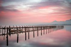 Calm morning on the lake by Sunny Herzinger