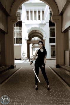 #katana #sword #katana girl #katana babe #nude