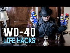 Most of us have a can of WD-40 sitting around somewhere, probably in the garage. Honestly I don't even know where mine is. I used to only use it when I had a rusty screw or nail I needed to pull out. I'm buying a new can though and putting it somewhere I can find it, because it turns out that... Life Hacks List, Life Tips, Wd 40 Uses, Life Hacks Youtube, Female Urinal, Survival Life, Storage Hacks, Home Repairs, Helpful Hints