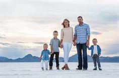 Salt Flats Family | Jared Medley Photography Blog for Utah Photographers