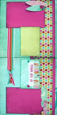 Girls, Girls, Girls 2 Two Page Layout Scrapbook Page Kits .:. Scraptique, Inc.