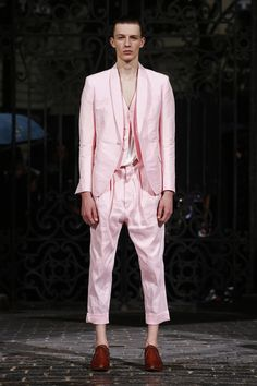 Haider Ackermann   Menswear - Spring 2017   Look 17