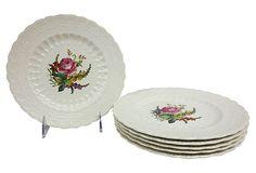 English Spode's Jewel Plates, S/6 on OneKingsLane.com