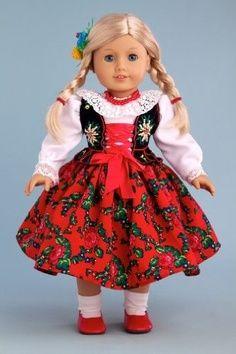 goralka | DreamWorld Collections Highlander Girl (Goralka) - 18 Inch Collectible ...