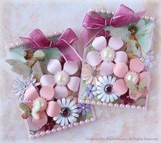 久々に「花便り」の画像   Paper Flowers 〜クラフトパンチや花紙で作る立体のお花いろ…