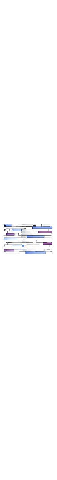 Miroir Blurred Lines - 65 X 120 Cm