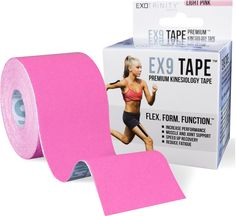 Did you know that our EX9 Premium Kinesiology Tape comes in PINK? wink emoticon To all the pink lovers out there, don't miss your chance to order your very own kinesiology tape and enjoy its amazing benefits.  You can easily get a roll of the premium EX9 Tape here: http://www.amazon.com/Kinesiology-Tape-Therapeutic-Quick-Start-Hypoallergenic/dp/B00QQ3PIFW/ref=sr_1_1?ie=UTF8&qid=1437384123&sr=8-1&keywords=ex9+tape