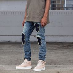 EmbellishNYC Fiero Ripped Denim - A Blog About.....Nothin'