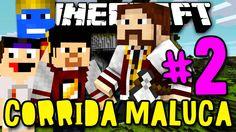 CORRIDA MALUCA! - MALDITA LAVA!! - #2 - Minecraft