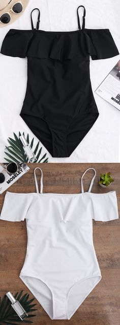 $12.99 Off The Shoulder Flounced One-Piece Swimwear.Zaful,bathing suit,swimsuits,summer,cute,beach weekend packing,women fashion,summer outfits,one pieces,swimwear,bikini set,summer fashion,Hawaii,bikini,chic,fall,fall outfits,teen bathing suits,fall fashion,bikinis,summer swimsuits,one piece swimwear,beach outfit,teen swimsuits,beach,summer bikinis,swimwear cover ups,zaful fashion,one piece swimsuit,bikini swimsuits,outfit,outfits,outfit ideas,womens fashion