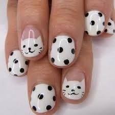 Αποτέλεσμα εικόνας για nails art design black and white
