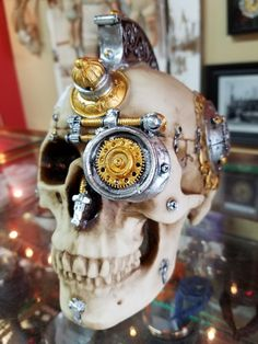 Steampunk skull, only 24.94!