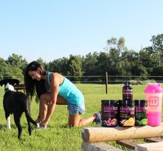 """""""My new fitness obsession? Trail Running! So what's a girl to do when she has farm chores, but wants to get a good workout in? Lace-up up those trail shoes and hit the fence line checks!   Trail running is no joke, so when I hit the trails I make sure I have my BCAAs to keep me hydrated and my muscles on track for a quick recovery.  Right now @idealfit has an awesome """"Burn and Lean Stack"""" deal where you can choose your favorite flavor BCAA, Fat Burner for Women, and the new pink shaker…"""