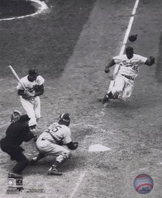jackie robinson stealing home! - Bing Images