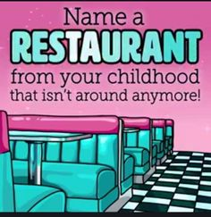 Post your and please re-pin! #restaurant #retro #food #booth #old #remember #classic #Childhood #defunct #eat #diner