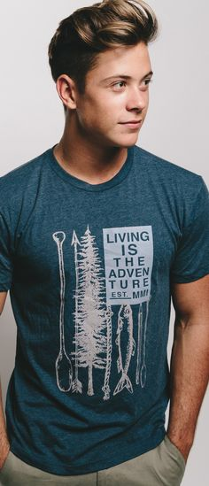 Living Is The Adventure! - Dress in Sevenly and know that your purchase donated to make a difference.