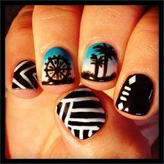 music festival nails, festiv season, nail art music, festiv nail, nail magazin, festival nail art, inspir nail, beach, art nails