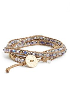 LONNA+&+LILLY+Long+Beaded+Wrap+Bracelet+available+at+#Nordstrom
