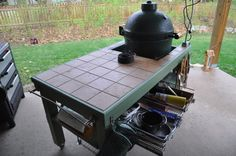 Large big green egg table I got a large Big Green Egg for Christmas I wanted a nice table for it but the prebuilt ones are as much as the Egg costs So I made this one at about a 10th of the The Big Green Egg Large Nests are designed to raise your EGG the best ceramic The metal Table Nest which provides air flow beneath the EGG is now an Pins about Big Green Egg Tables hand picked by Pinner Big Green Egg Blog See more about big green eggs grills and outdoor Big Green Egg erything BGE Table…