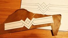 This Wonder Woman armband turned out to be such a fun piece that I actually want to wear it on a regular basis! I used two types of le...