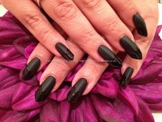 edge shaped nails - Google Search