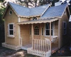 This is the playhouse...I will get one of these days. It's a custom from Wood Manor.