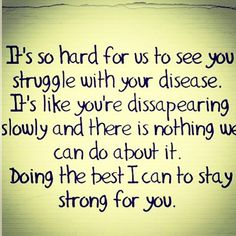 It's so hard for us to see you struggle. #mindcrowd #tgen #alzheimers www.mindcrowd.org
