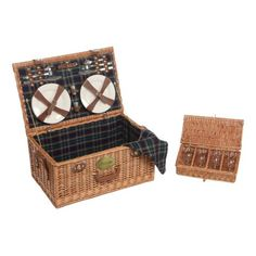 Willow 4 Piece Beige Picnic Hamper – Next Day Delivery Willow 4 Piece Beige Picnic Hamper from WorldStores: Everything For The Home