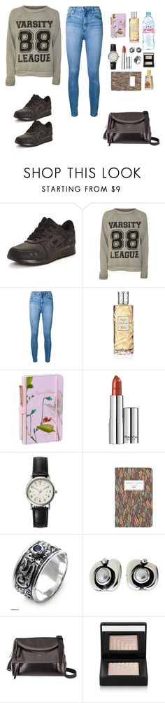 """Purification of the environment"" by diabolissimo ❤ liked on Polyvore featuring Asics, WearAll, Nobody Denim, Evian, Christian Dior, Wild & Wolf, BeYu, FOSSIL, NOVICA and Lodis"